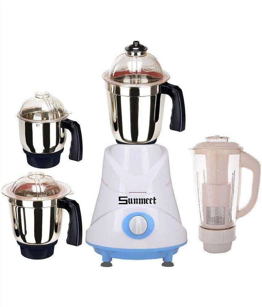 Sunmeet-Tough-600W-Mixer-Grinder-(4-Jars)