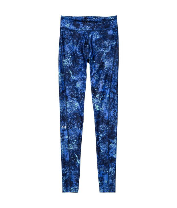 Under Armour Under Armour Blue Heat Gear Alpha Compression Printed Pants