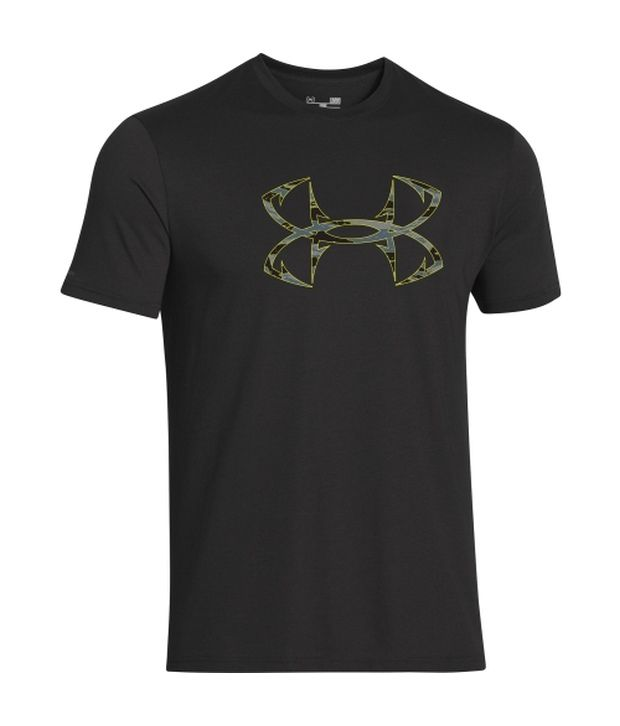 Under Armour Under Armour Green And Grey Mens Fish Hook Logo T-shirt (pack Of 2)
