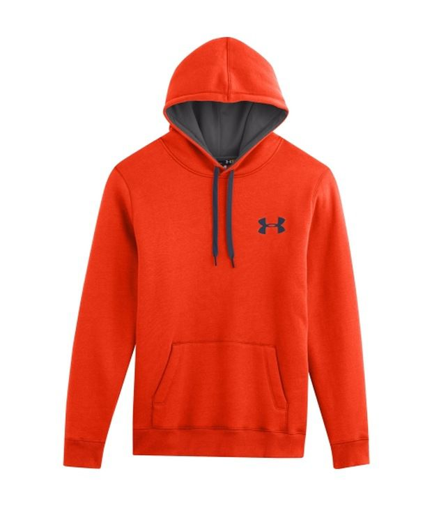 Under Armour Under Armour Orange And Green Mens Rival Cotton Sweatshirt (pack Of 2)
