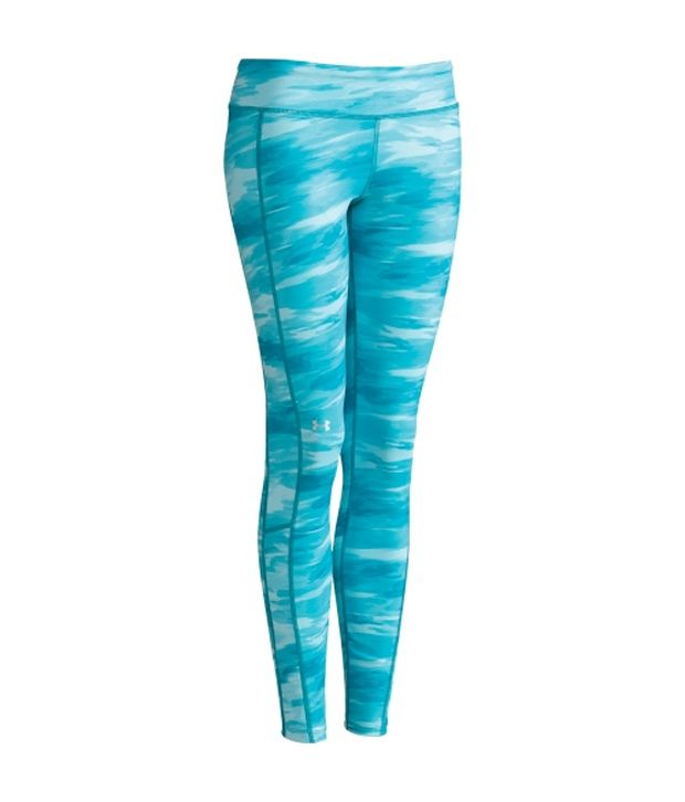 Under Armour Under Armour Pink And Blue Womens Cold Gear Cozy Printed Pants (pack Of 2)