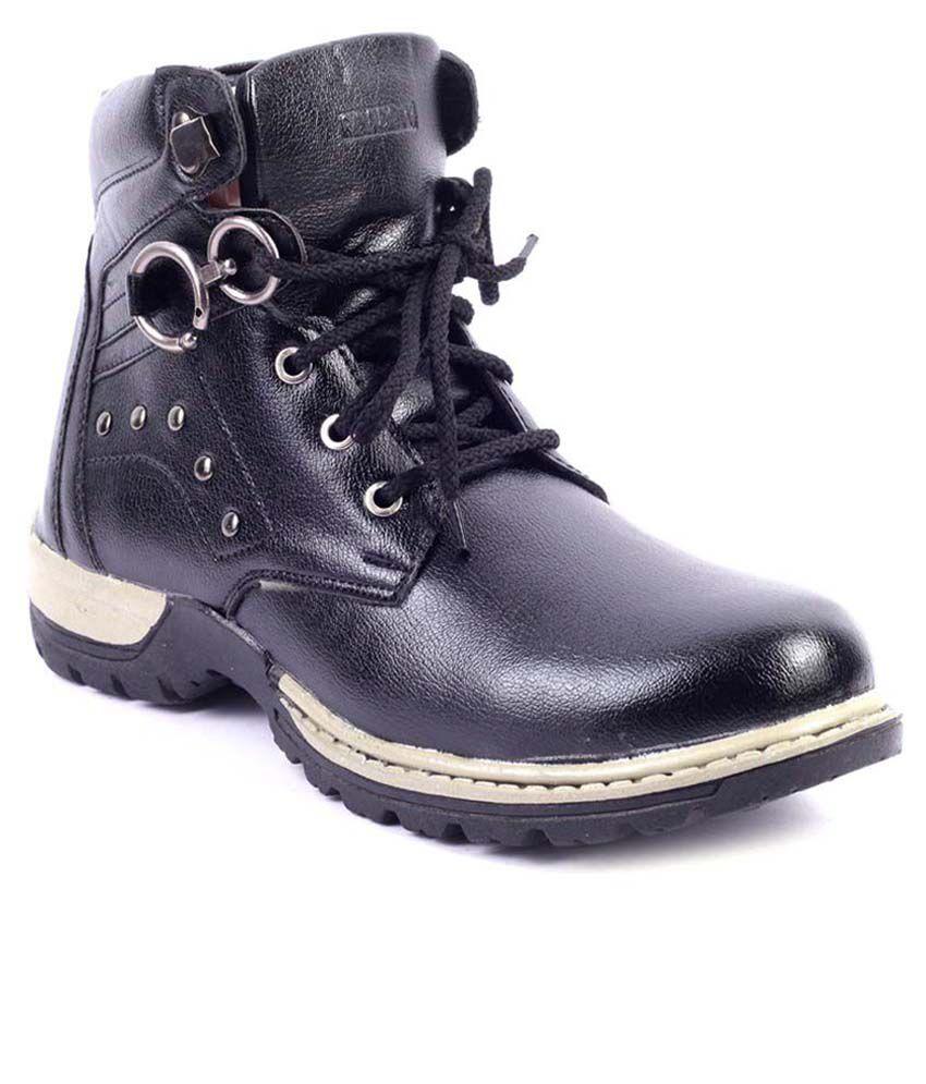 Raadow Black Boots