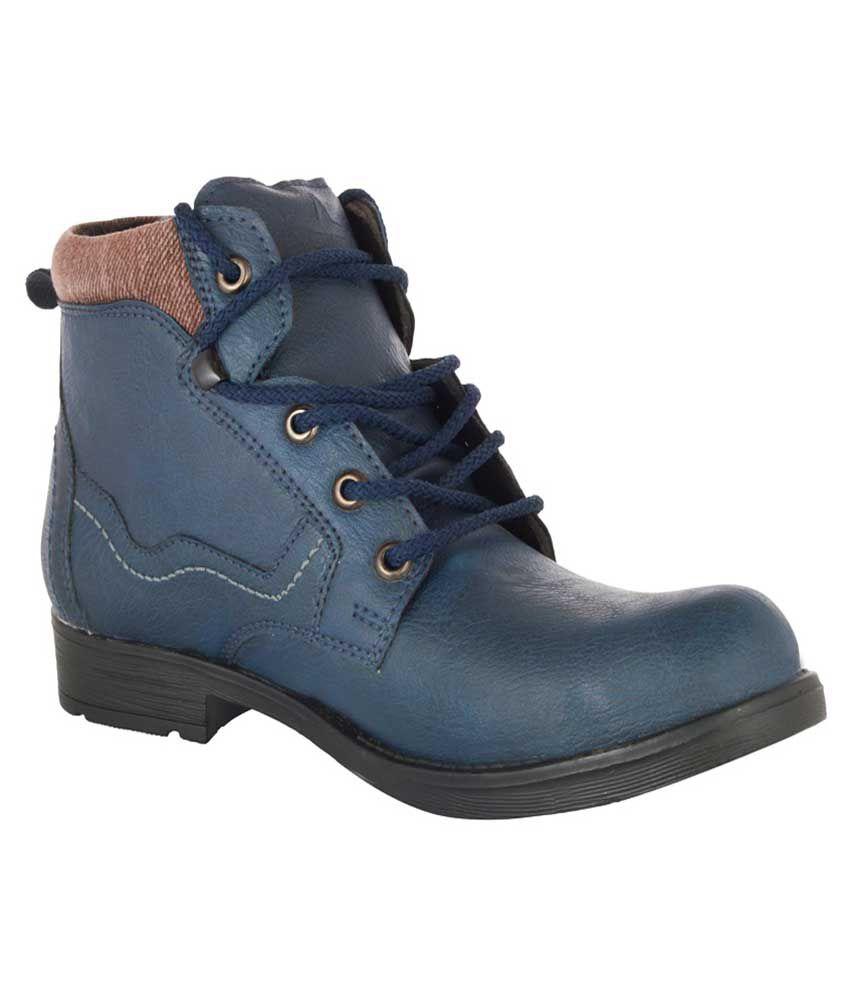 Hillsvog Blue Boots