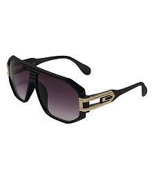 Selfieseven Purple Medium Men Rectangle Sunglasses