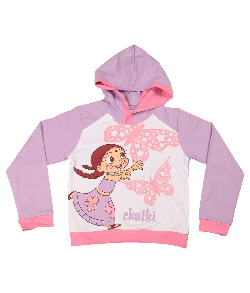 Chhota Bheem Pink Sweatshirt