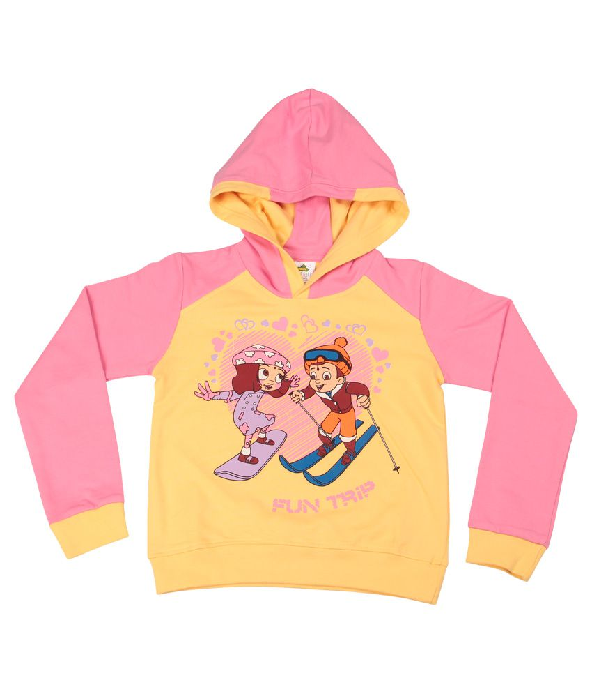Chhota Bheem Yellow Sweatshirt