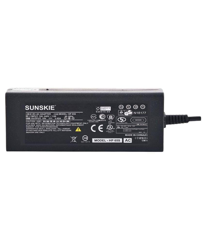 Sunskie Laptop Adapter for HP Compaq Presario C304NR - Black