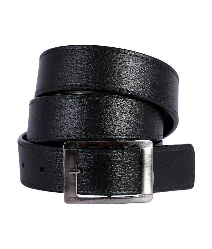 Daller Black Casual Belt