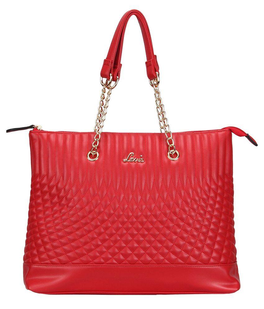 Lavie Red Casual Shoulder Bag