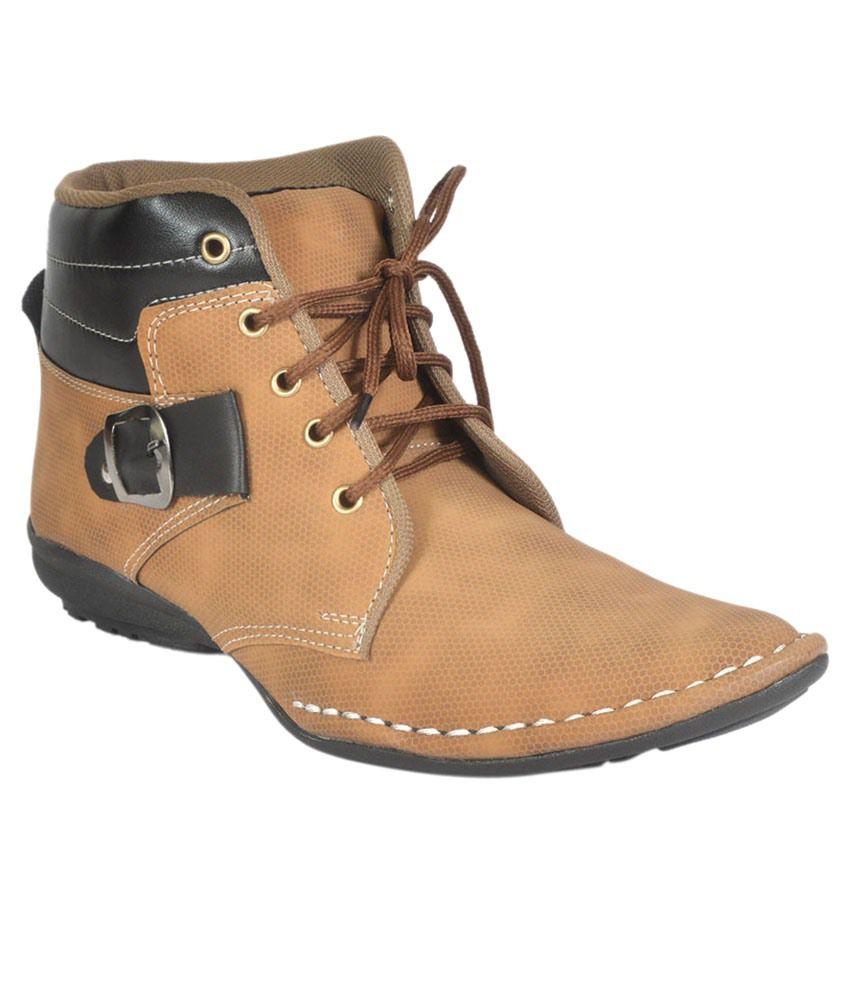 Jk Port Tan Boots