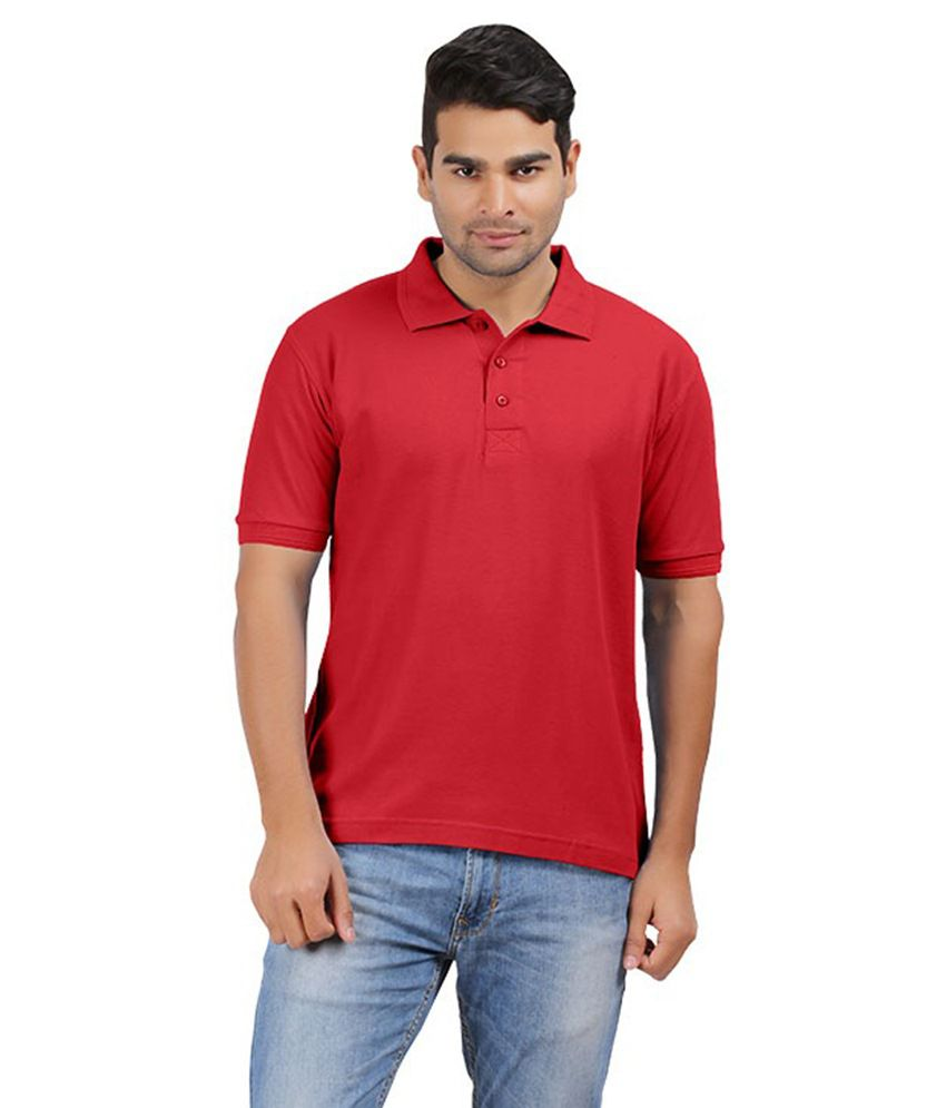 MG Red Cotton T-shirt