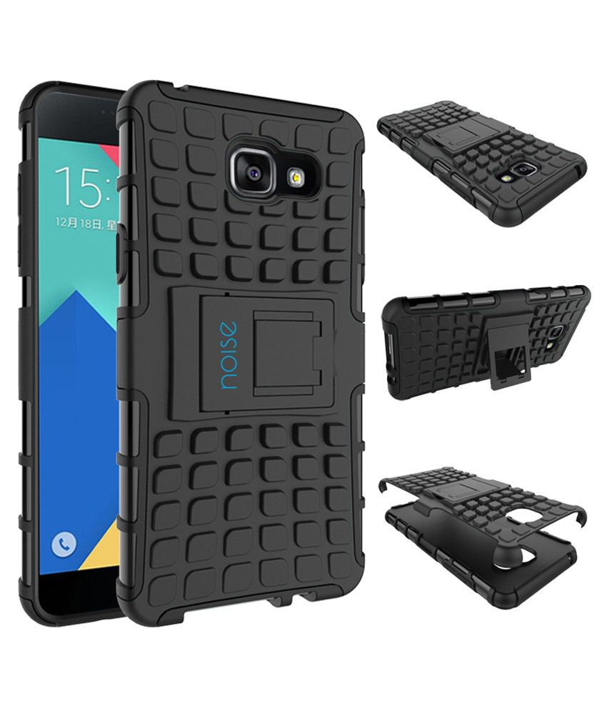reputable site c8b84 e020e Noise Back Cover With Stand For Samsung Galaxy A7 2016-black