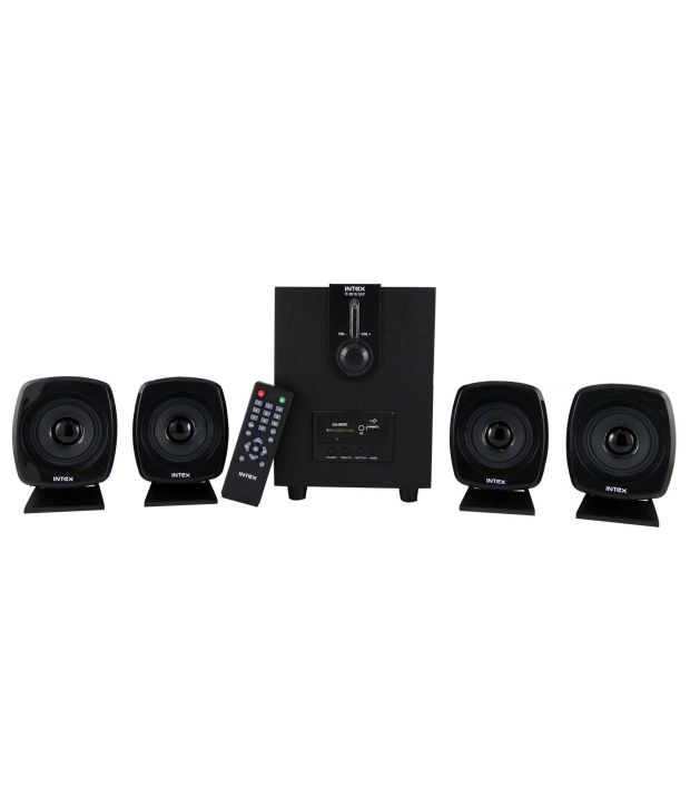 9b2785e8e6b Buy Intex IT-2616 SUF 4.1 Speaker System Online at Best Price in ...