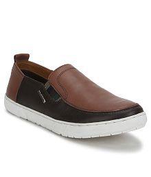 Provogue Brown Smart Casuals Shoes