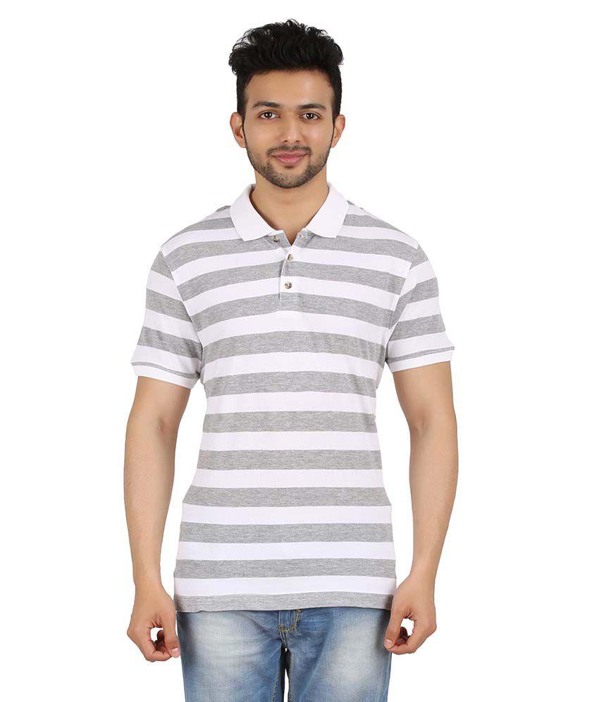 Hoodz White Cotton T-shirt