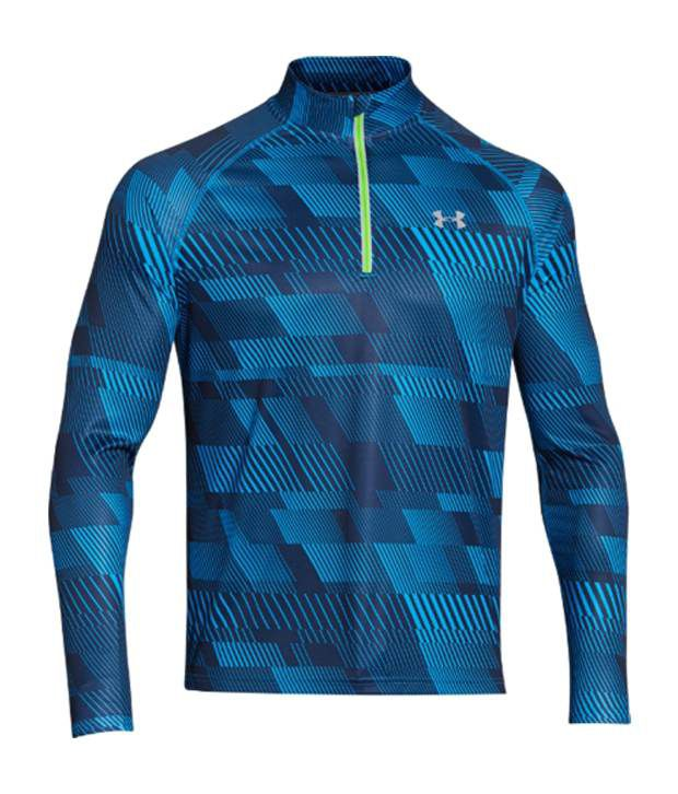 Under Armour Under Armour Men's Promise Land Quarter-zip Long Sleeve Shirt, Volcano/graphite/ref