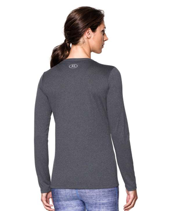 Under Armour Under Armour Women's Tech Long Sleeve Shirt, Black