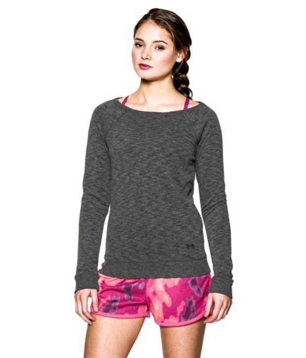 Under Armour Under Armour Women's Kaleidalogo Solid Long Sleeve Shirt, Afterburn