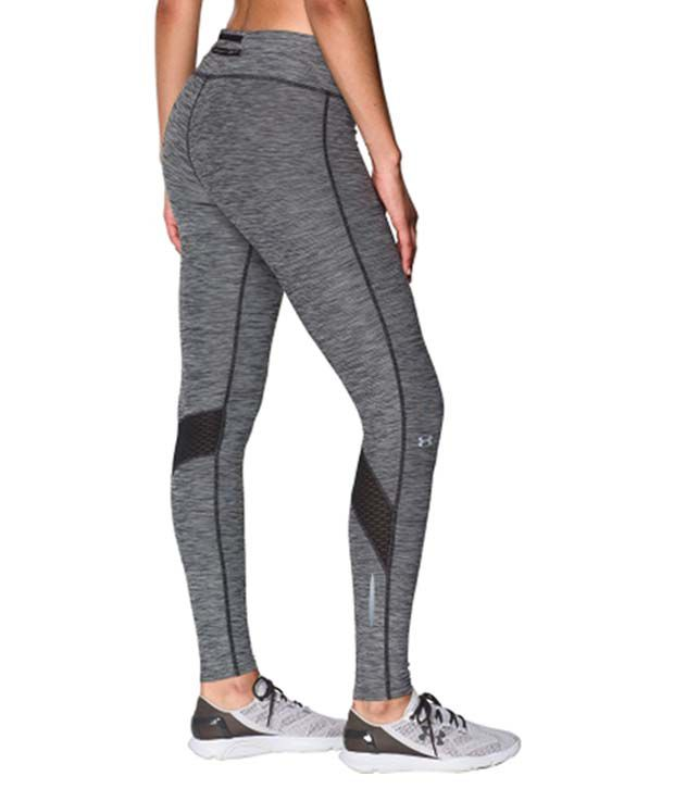 Under Armour Under Armour Women's Fly By Textured Running Leggings, Black