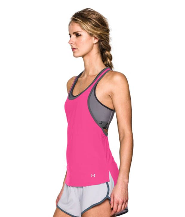 Under Armour Under Armour Women's Alpha Mesh Loose Tank Top, Black