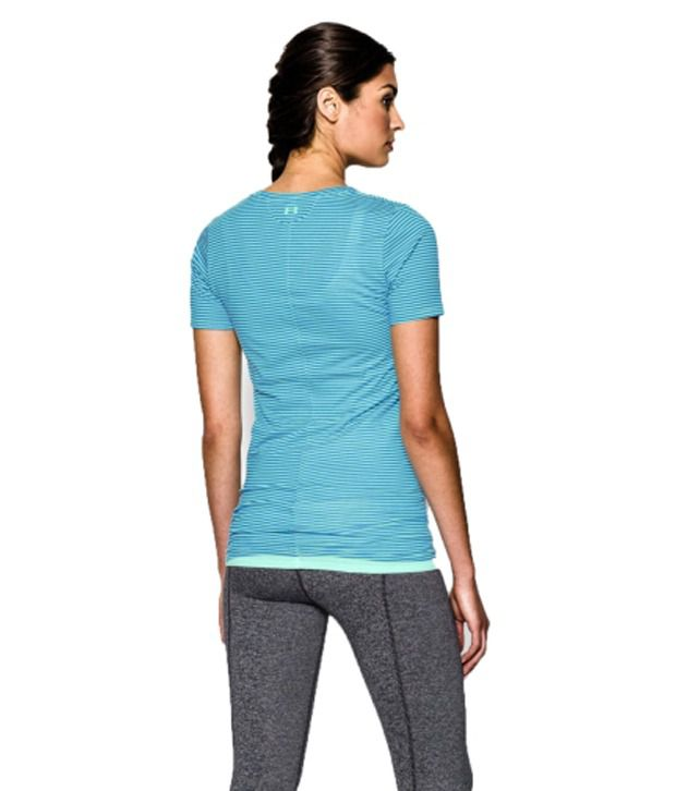 Under Armour Under Armour Women's Long And Lean Printed V-neck T-shirt, Afterglow Spy Dye