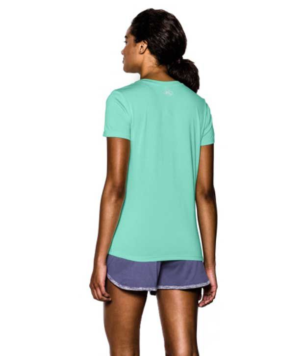 Under Armour Under Armour Women's Twisted Tech V-neck Shirt, Afterglow