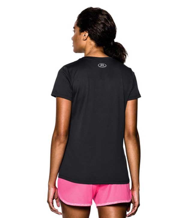 Under Armour Under Armour Women's Tech V-neck Short Sleeve Shirt, Speed Green