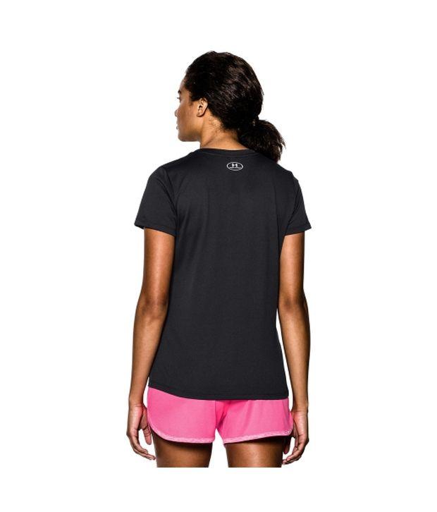 Under Armour Under Armour Women's Tech V-neck Short Sleeve Shirt, Montana Teal