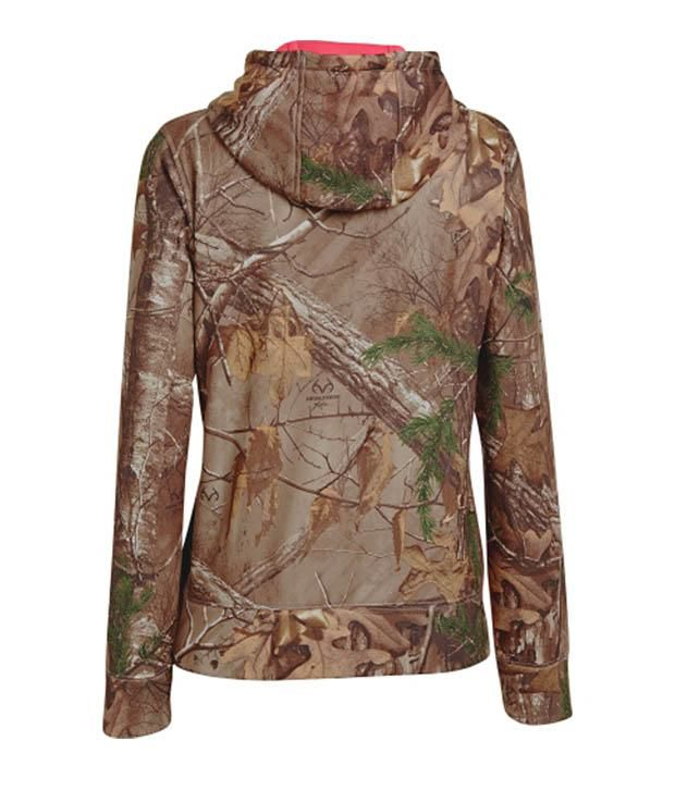 Under Armour Under Armour Women's Camo Big Logo Hoodie, Realtree Xtra
