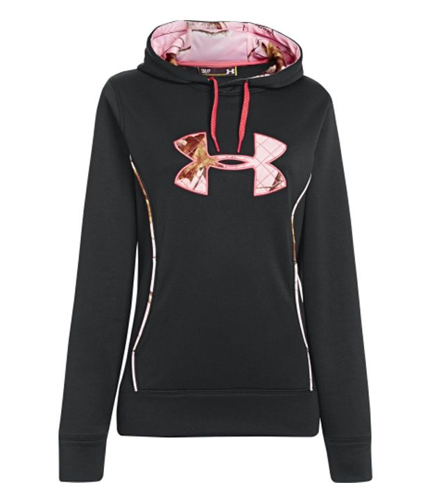 Under Armour Under Armour Women's Storm Caliber Hoodie, Black/realtree Ap Pink