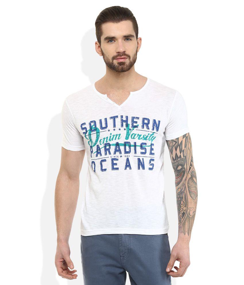 DUKE White T-Shirt