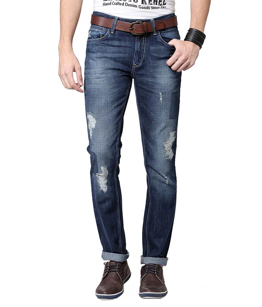 SF Jeans by Pantaloons Blue Jeans