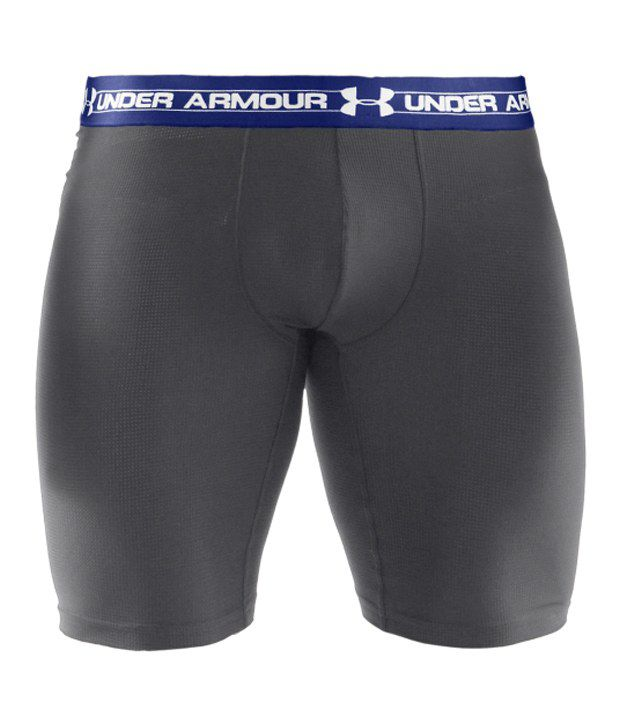 Under Armour Men's 9 inches Mesh Boxer Jock Black