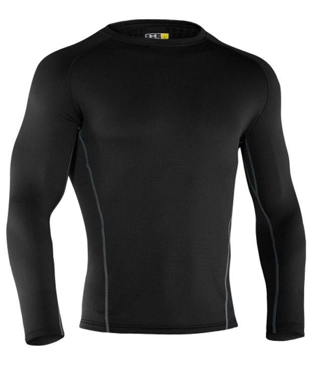 Under Armour Men's ColdGear 3.0 Baselayer Shirt Black
