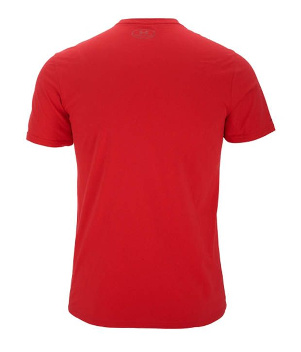Under Armour Men's Fed Hill Script Graphic T-Shirt, Red