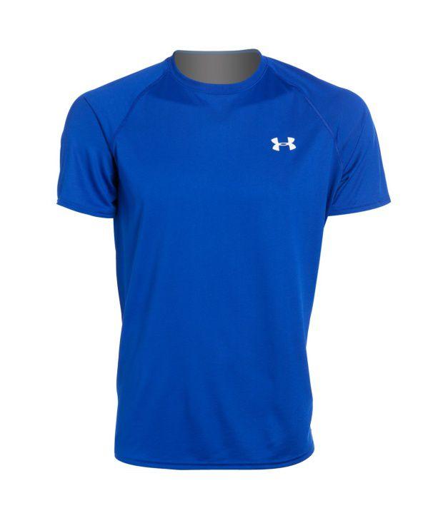 Under Armour Men's Ua Tech Short Sleeve T-shirt, True Gray/heather Black