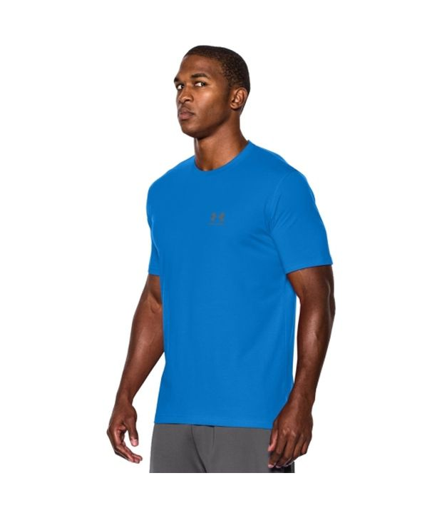 Under Armour Under Armour Men's Charged Cotton Sportstyle T-shirt, Bolt Orange/academy