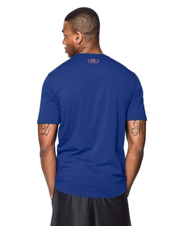 Under Armour Under Armour Men's D-licious Graphic Basketball T-shirt, Cobalt/dark Orange