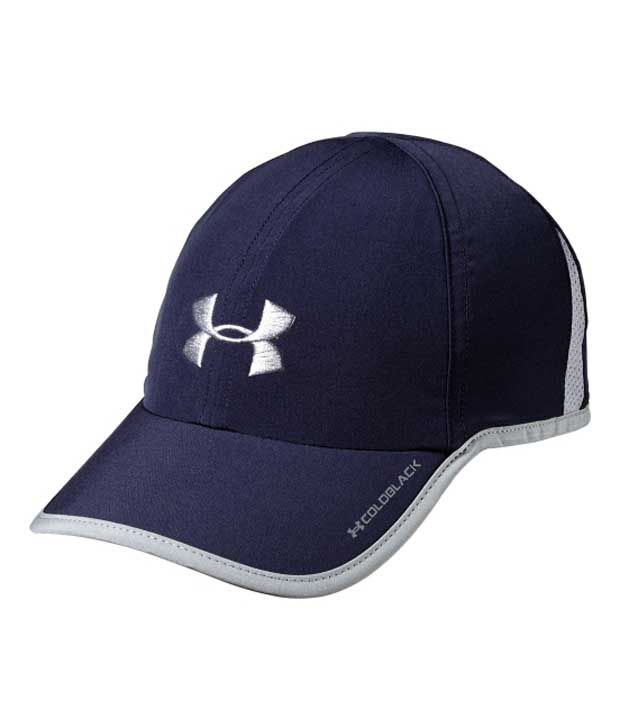Under Armour Under Armour Men's Armourlight Shadow Adjustable Hat, Black/white