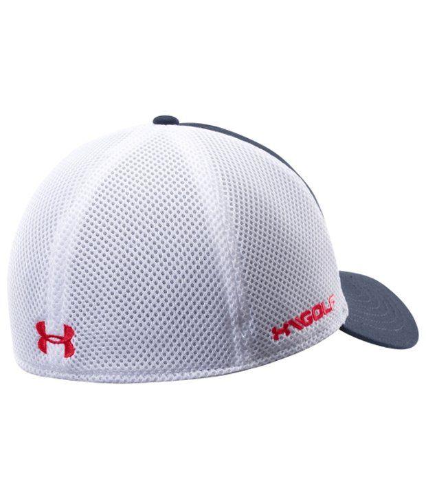 Under Armour Under Armour Men's Mesh Golf Hat, Black