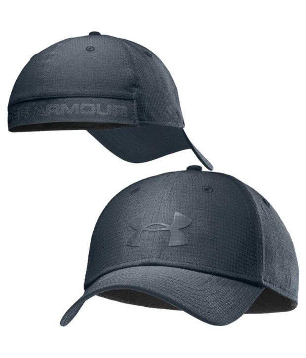 Under Armour Under Armour Men's Headline Stretch Fit Hat, Greenhead/tan Stone