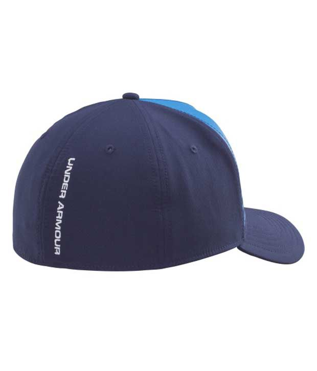 Under Armour Under Armour Men's Striped Out Low Crown Stretch Fit Hat, Rough/black