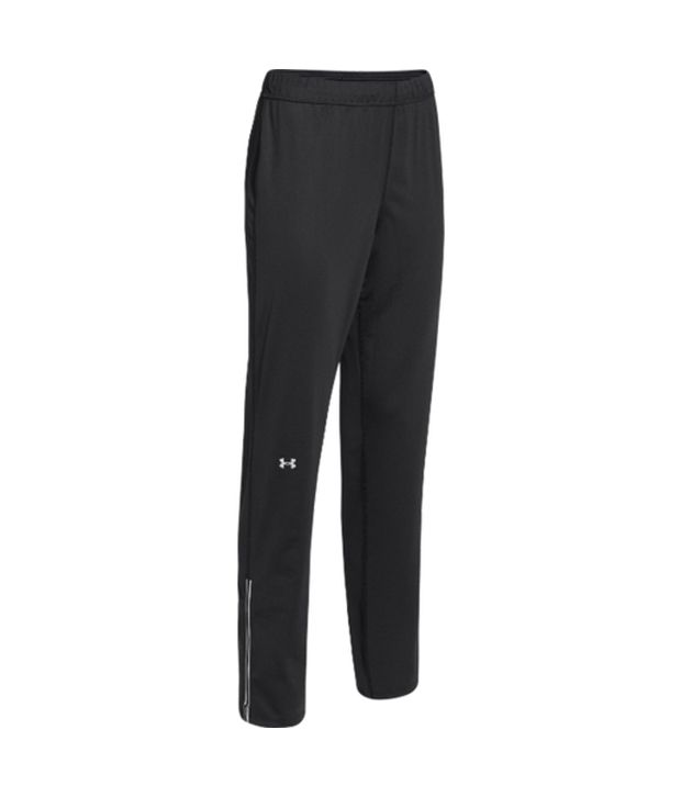 Under Armour Under Armour Women's Qualifier Knit Running Pants, Black/metal