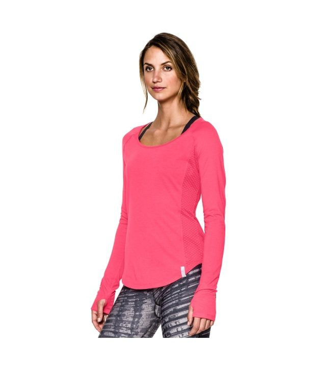Under Armour Women's Fly-By Long Sleeve Shirt Europa Purple