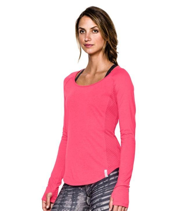 Under Armour Women's Fly-By Long Sleeve Shirt Indigo
