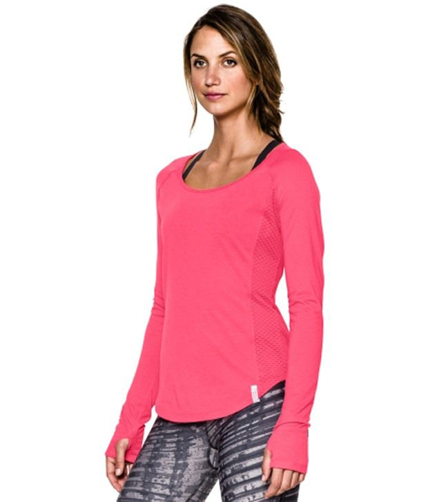 Under Armour Women's Fly-By Long Sleeve Shirt, X-ray