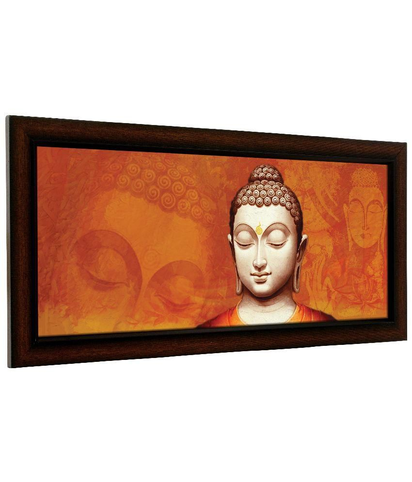delight art frame god buddha digital printed painting with frame