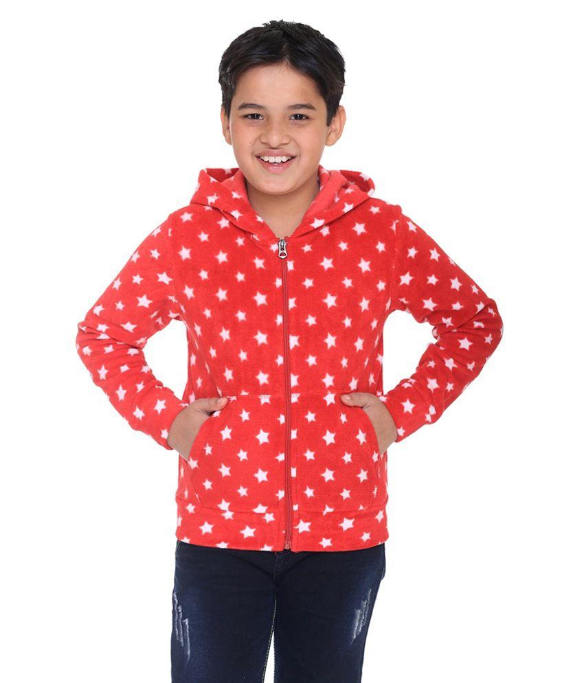 Kids-17 Red Sweatshirt