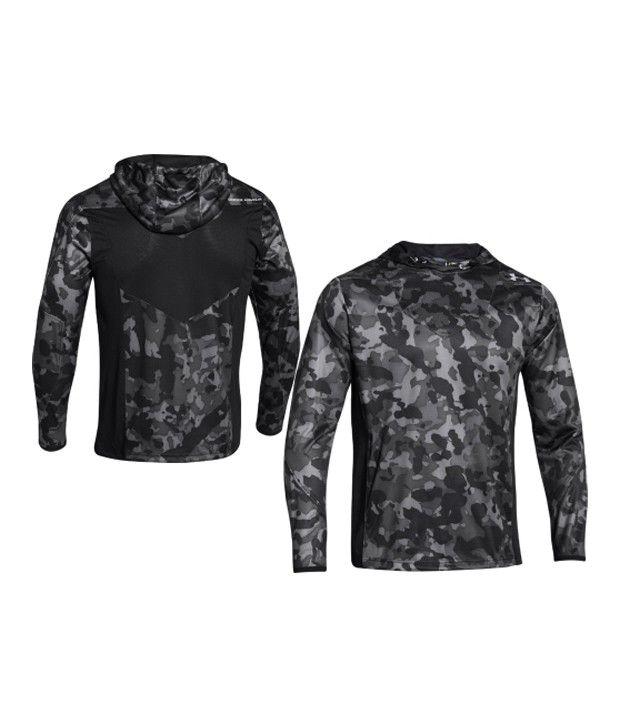 Under Armour Under Armour Men's Undeniable Heatseeker Shooting Hooded Long Sleeve Shirt, Rifle Green/black/hvy