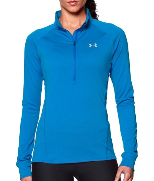 Under Armour Under Armour Women's Tech Half Zip Long Sleeve Shirt, Sugar Mint